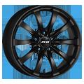 Oxxo Racy Black 8x18 ET30 LK5x120